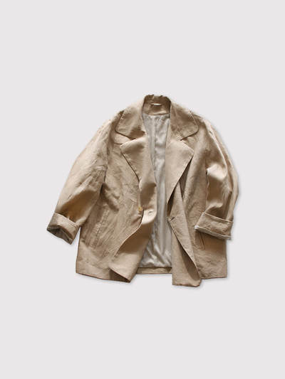 Driving jacket~linen vintage hard 2