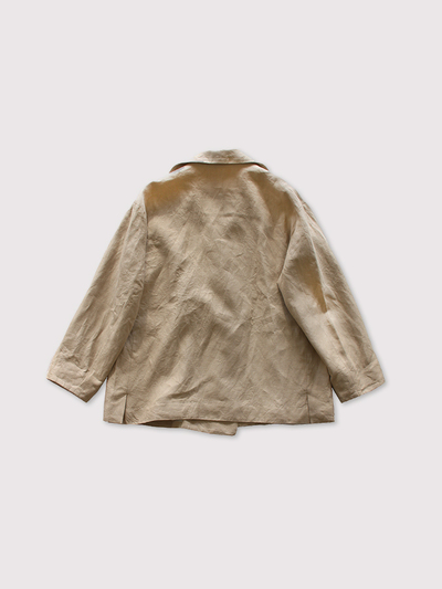 Driving jacket~linen vintage hard 3