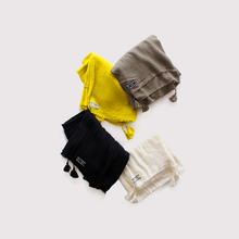 Fringe tassel shawl ~wool