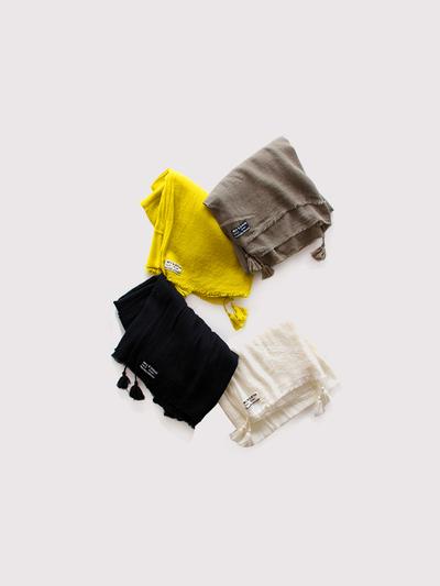 Fringe tassel shawl ~wool 1