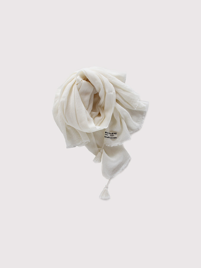 Fringe tassel shawl ~wool 2