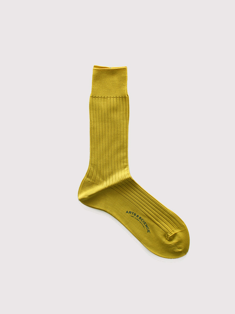 Plain rib socks(men's) 2