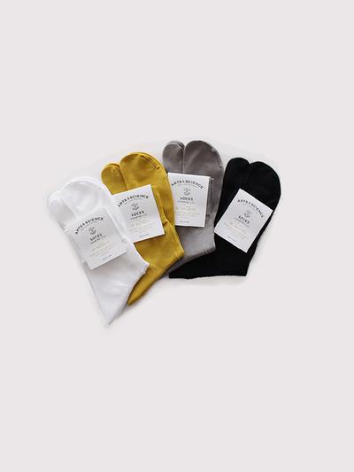 Plain cotton tabi socks 1