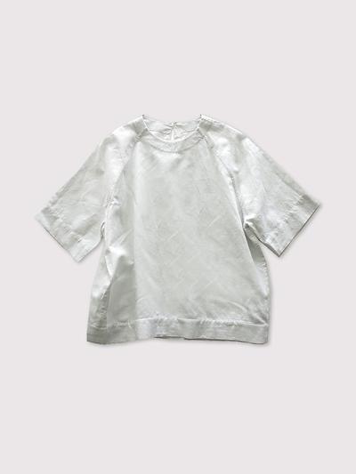 Raglan woven tee~cotton linen 1