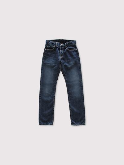 SP slim 5 pocket pants~used selvedge denim 1