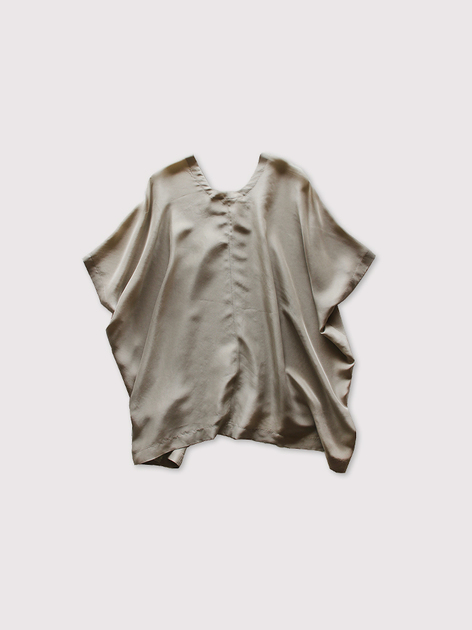 Back long blouse~silk 2