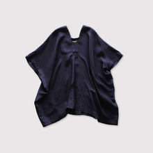 Back long blouse~silk