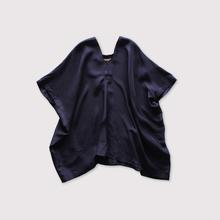 Back long blouse~silk