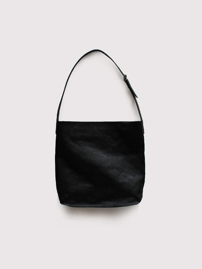 Box shoulder bag~cow leather 1