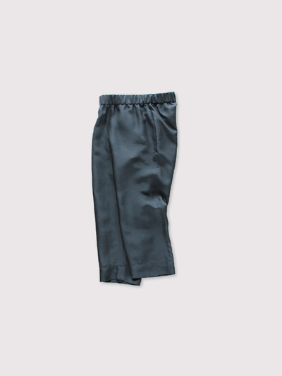 Easy cropped pants~silk 2