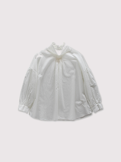 Front smocking blouse~cotton 1