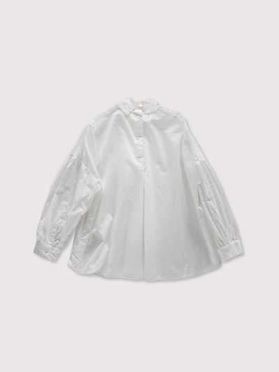 Front smocking blouse~cotton 2