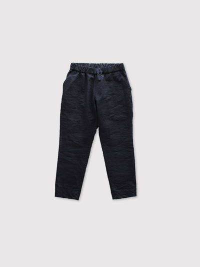 Simple easy tapered pants~linen 1