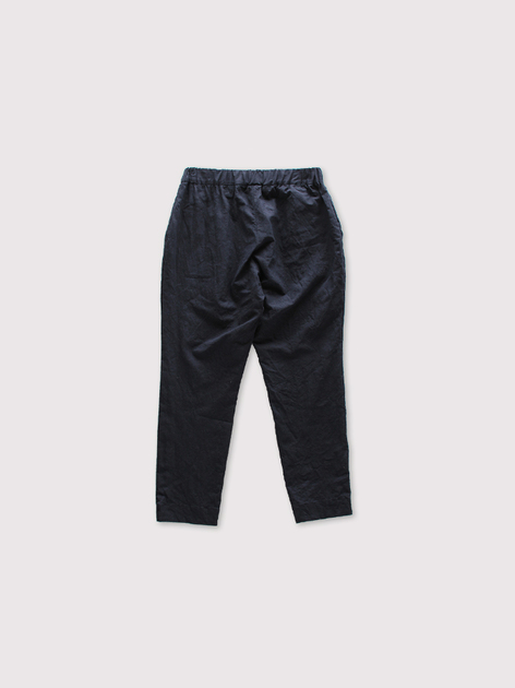 Simple easy tapered pants~linen 2