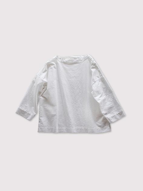 Stand collar box shirt~cotton 2