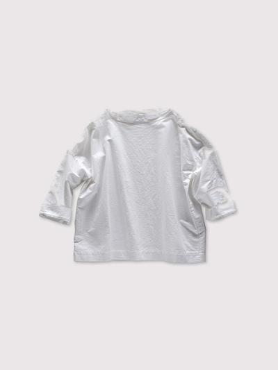 Stand collar box shirt~cotton 1