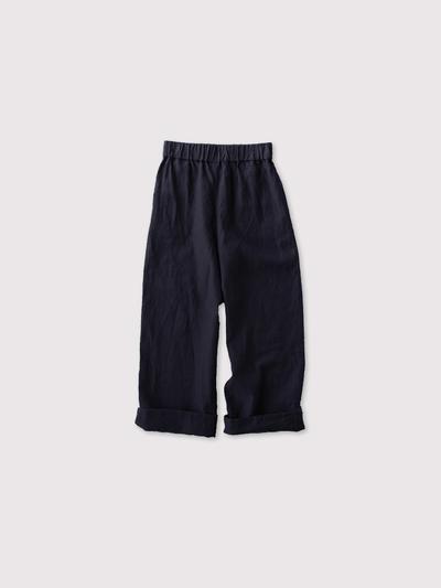 Easy wide pants~linen 2