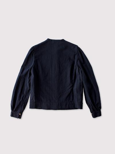 Front tuck open blouse~cotton linen 3