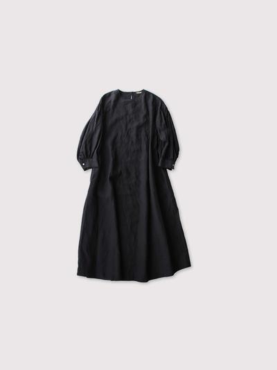 Round cuff dress Ⅱ~linen 3