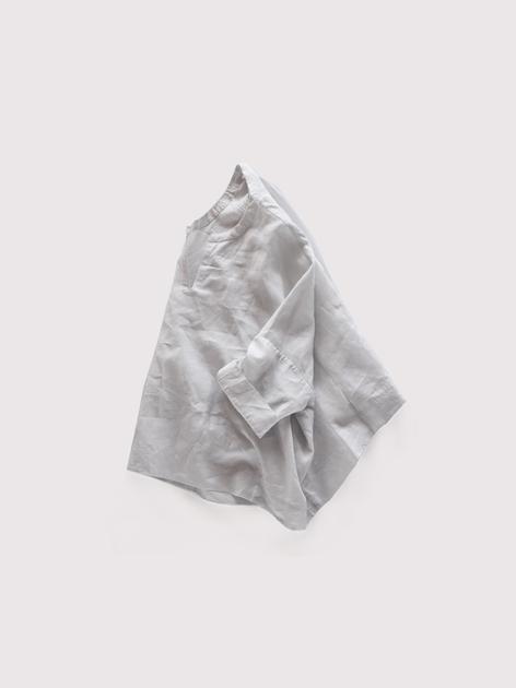 Front slit big slip on blouse~linen 2