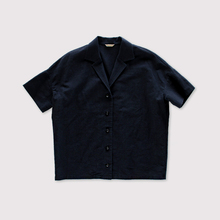 Open collar shirt  Ⅱ~cotton linen