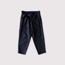 Ribbon wrap pants~linen