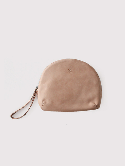 Round pouch~cow leather【SOLD】 2