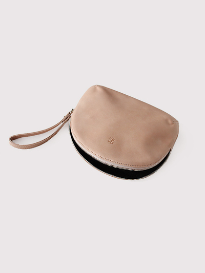 Round pouch~cow leather【SOLD】 3