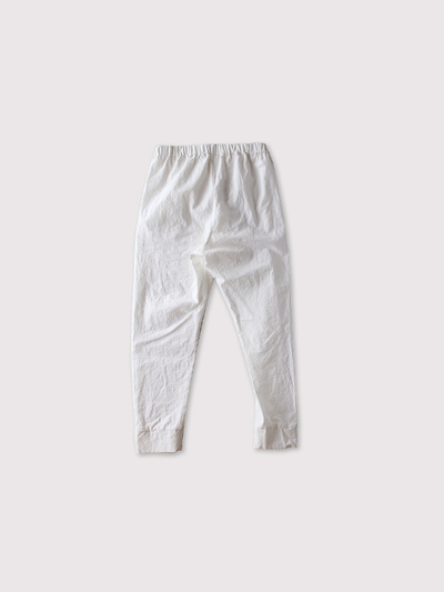 Woven leggings short~linen 2