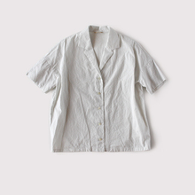 Open collar shirt Ⅱ~cotton silk