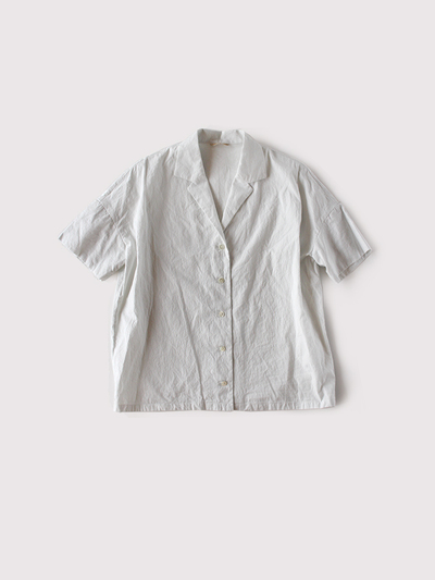 Open collar shirt Ⅱ~cotton silk 1