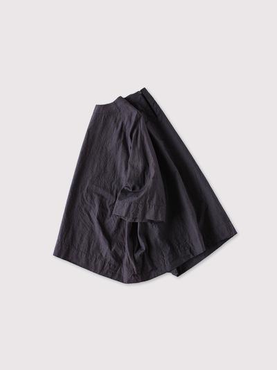 Raglan woven tee big~cotton silk 2