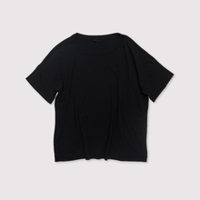 Loose fit T-shirt~fine cotton crape smooth