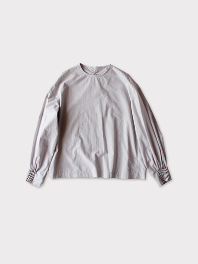 Tuck cuff blouse~cotton 1