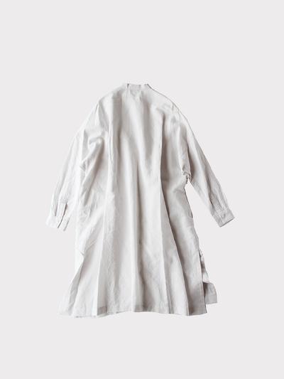 Front open long shirt~cotton linen 3