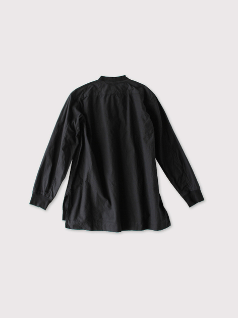 Woven henley neck~cotton 3