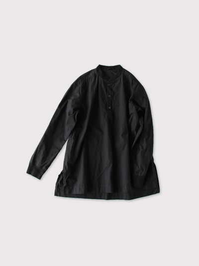 Woven henley neck~cotton 2