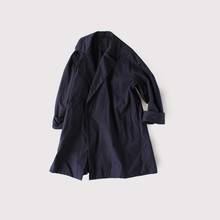 Buttonless duster coat short~cotton