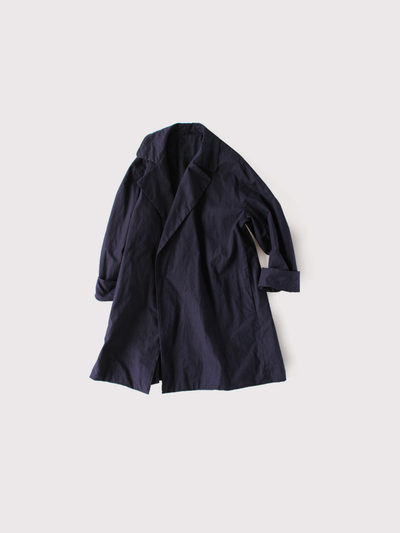 Buttonless duster coat short~cotton 1