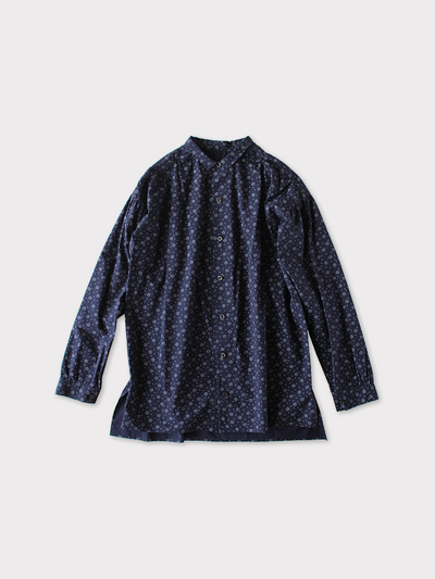 Men's gather blouse~bell flower pin weather 1