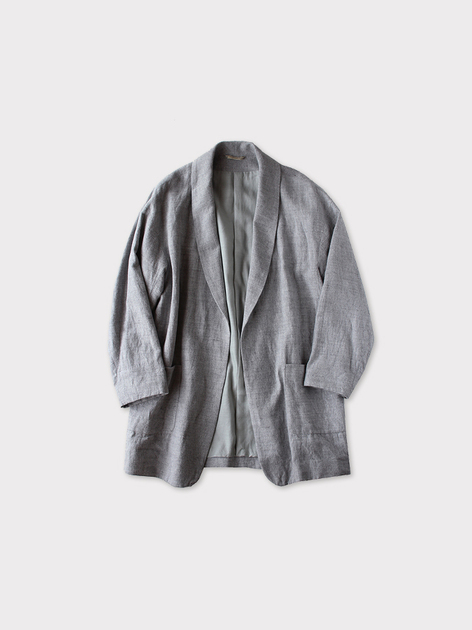 Smoking jacket~cotton linen 2