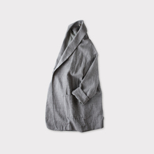 Smoking jacket~cotton linen