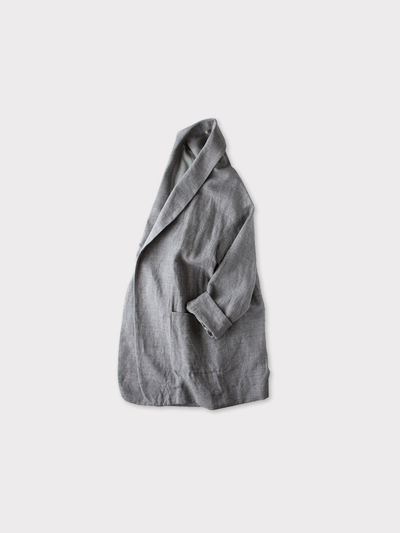 Smoking jacket~cotton linen 1