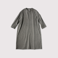 Cocoon dress~wool silk