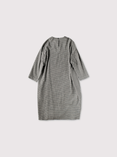Cocoon dress~wool silk 3
