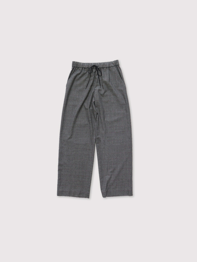 Draw string straight pants~wool  1