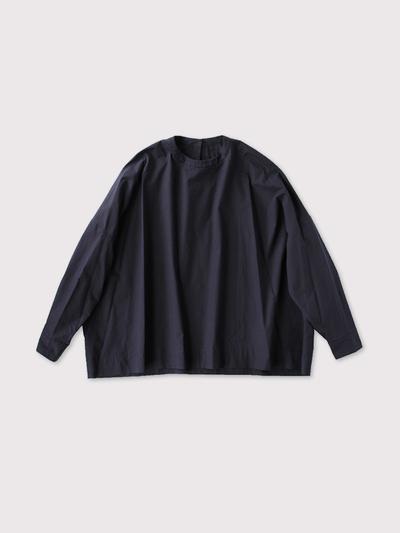 Big slip on blouse long sleeve~cotton 1