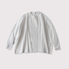 Big slip on blouse long sleeve~cotton