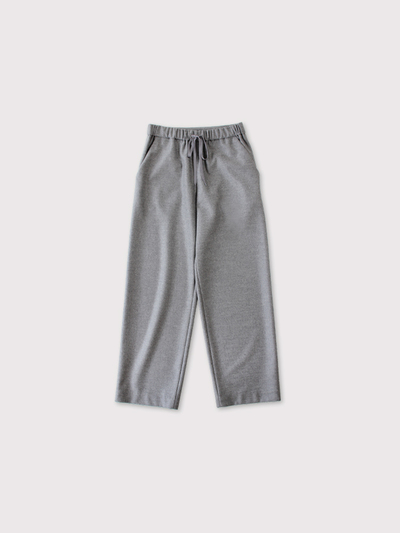 Draw string straight pants 1