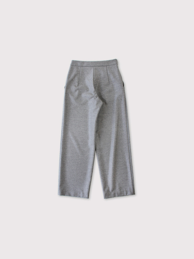 Draw string straight pants 2